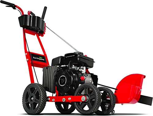 EARTHQUAKE 23275 Walk-Behind Landscape and Lawn Edger with 79cc 4-Cycle Viper Engine, 5 Year Warranty