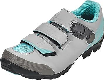 Shimano SHME3PG430WG00 - Zapatillas Ciclismo, 43, Gris - Verde, Mujer: Amazon.es: Deportes y aire libre