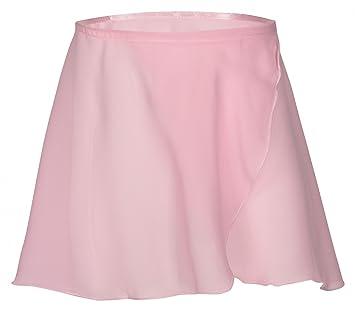 Emma - Falda cruzada para ballet, color rosa, talla 92/98 (3-4 años): Amazon.es: Deportes y aire libre