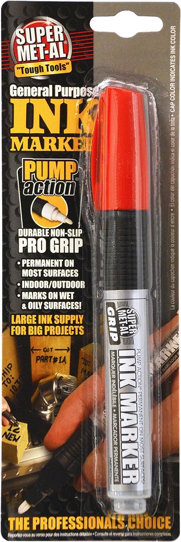 Super Met-Al 1296-1800 Squeeze Action Paint Marker