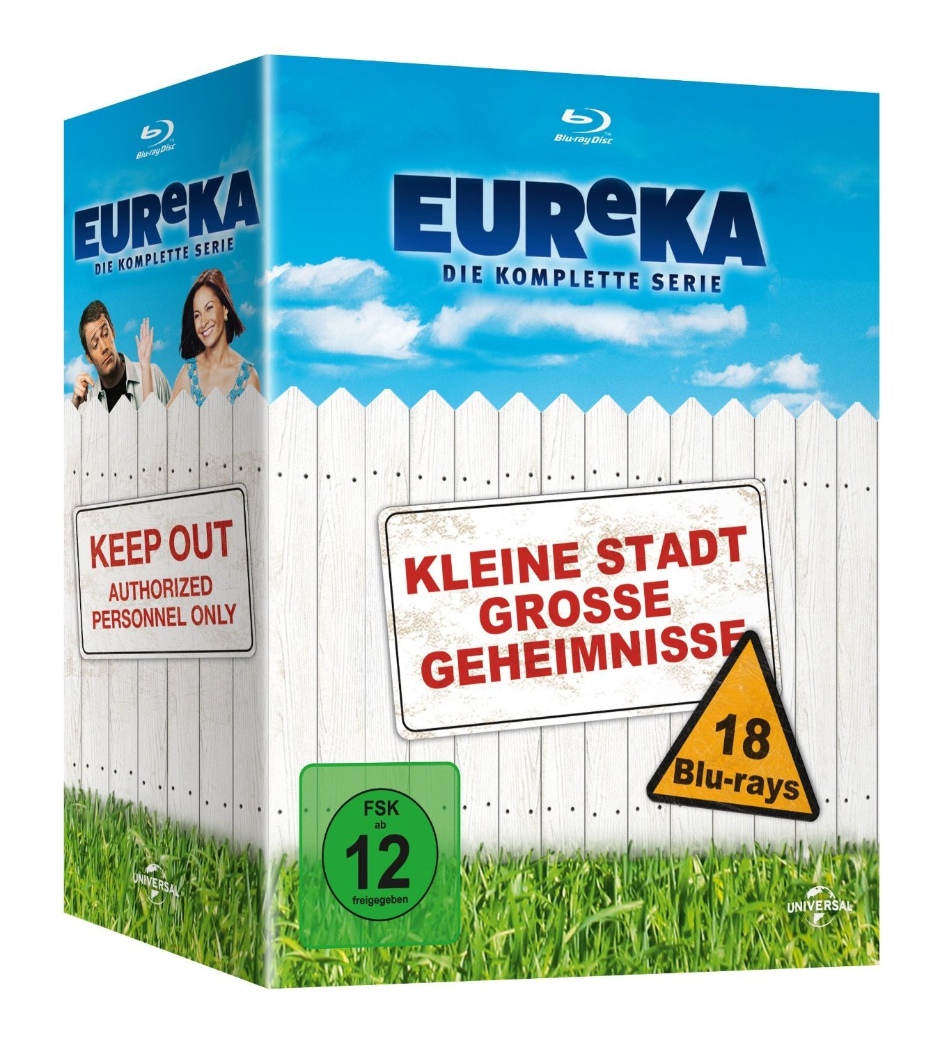Eureka - The Complete Series [Blu-ray] German Packaging, English is a language option. by