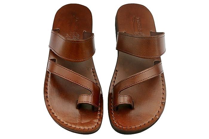 754820c4c Amazon.com  VEGAN Roman Sandals For Men   Women - Handmade Unisex ...