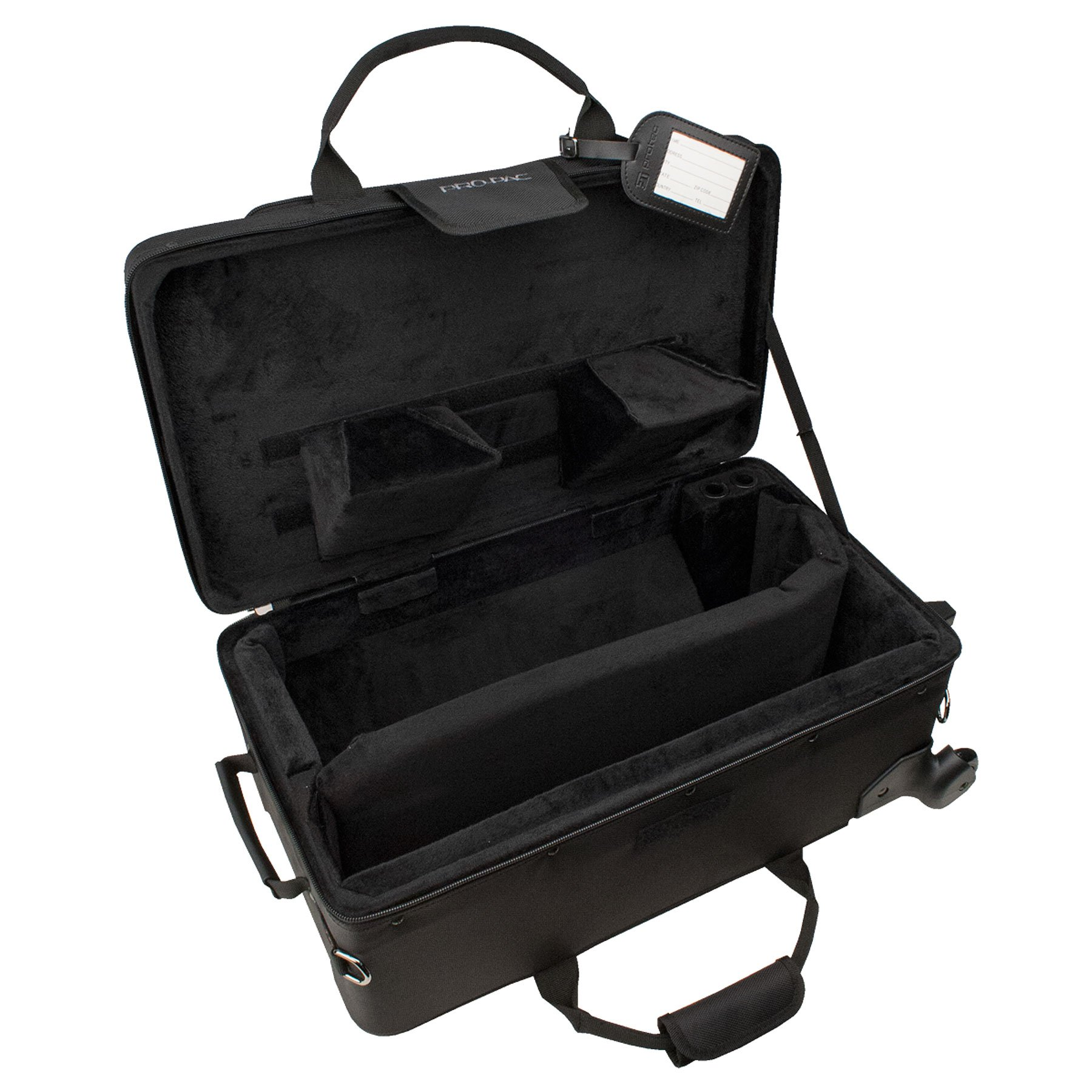 Protec Trumpet / Auxiliary Combo PRO PAC Case with Wheels, Model PB301VAX