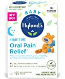 Hyland's Baby Nighttime Oral Pain Relief Tablets with Chamomilla, Soothing Natural Relief of Oral Discomfort…