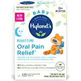 Hyland's Baby Nighttime Oral Pain Relief Tablets with Chamomilla, Soothing Natural Relief of Oral Discomfort, Irritability, a