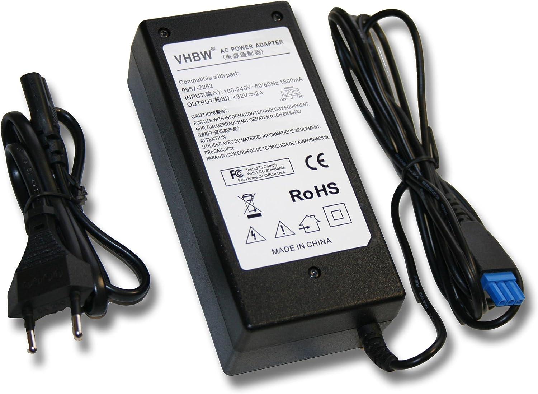 vhbw Adaptador DE Corriente para Impresora 32V - 2000mA Compatible ...
