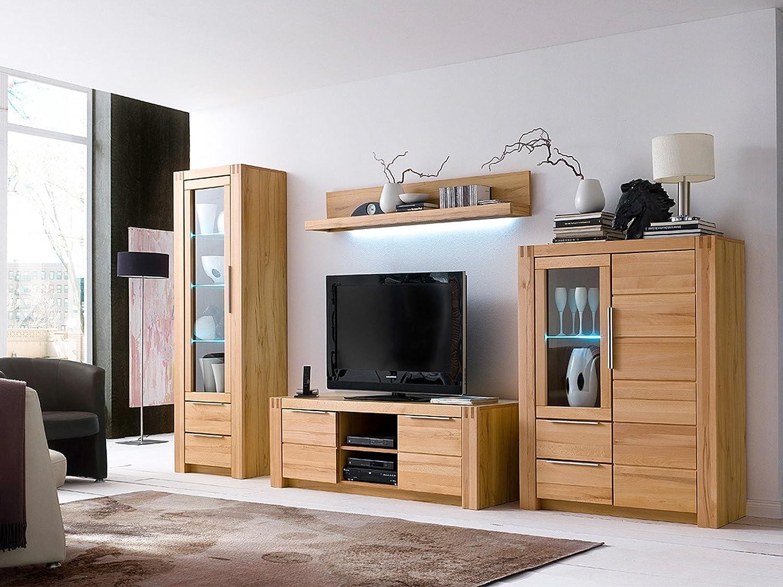 Wohnwand Wohnzimmerschrank Anbauwand Mediawand Wohnzimmer Möbel