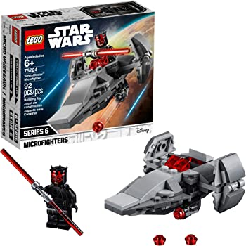 LEGO Star Wars Sith Infiltrator Microfighter 75224 Building Kit (92-Piece)