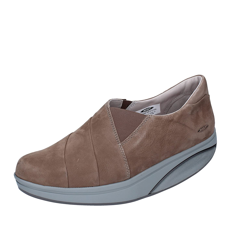 MBT Elea 2 W, Zapatillas sin Cordones para Mujer 37 EU|Beige