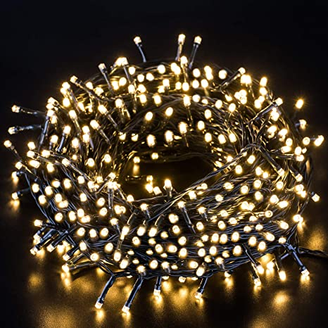 80 Stars Lights Led String Battery Colored Lights Control USB Powered Waterproof Lights for Christmas Wedding Celebration Festivals Family Curtain Gardens Decorations Lights Warm White