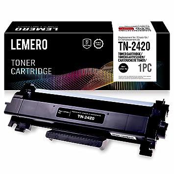 LEMERO Compatible Brother TN-2420 TN2420 TN2410 [con Chip ...