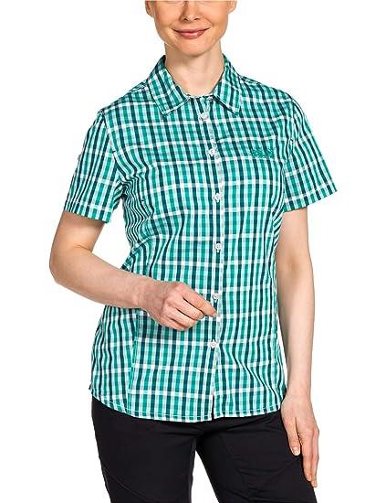 huge discount latest fashion various design Jack Wolfskin Damen Bluse RIVER SHIRT WOMEN