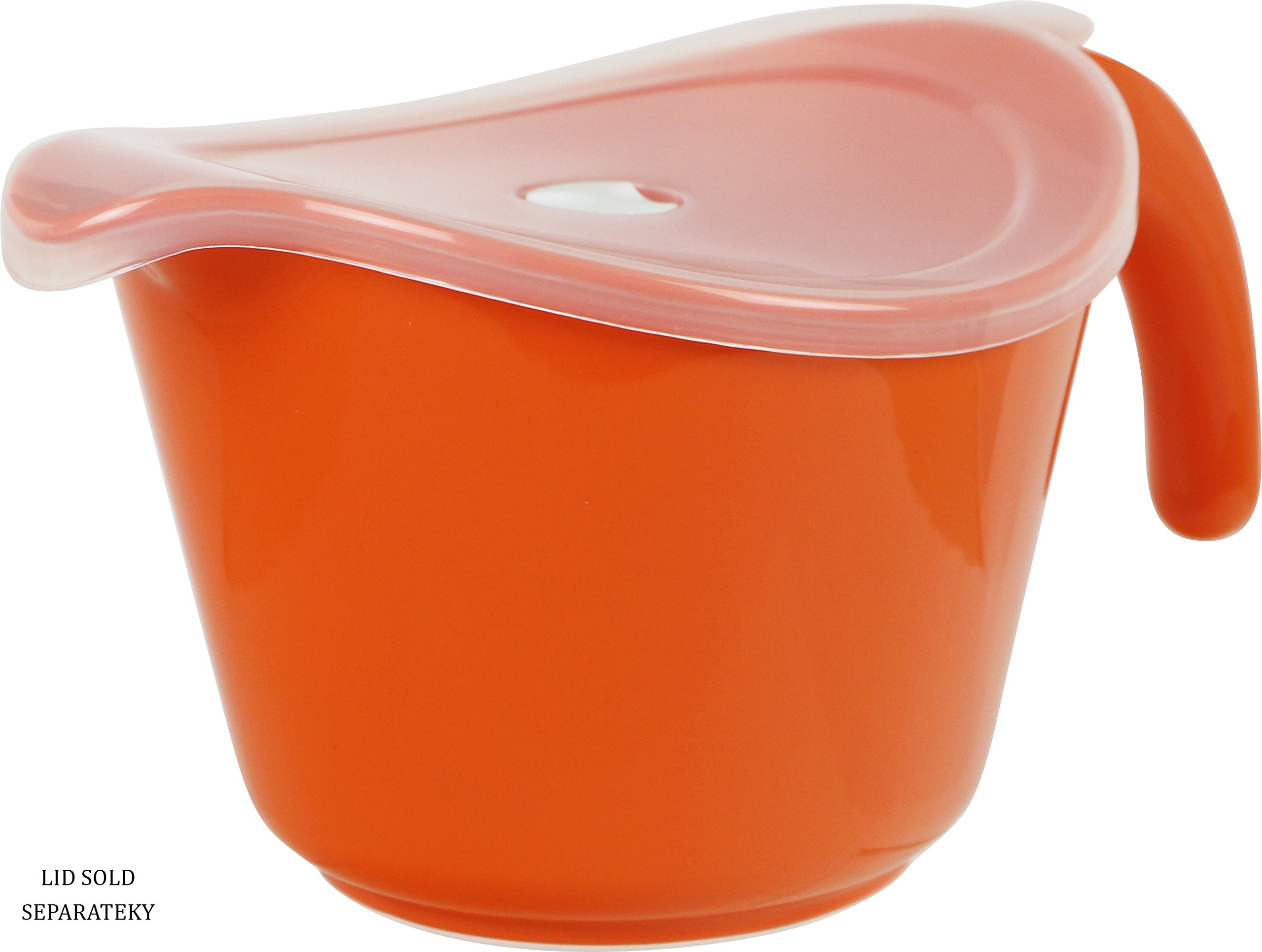 Reston Lloyd 92500 Calypso Basics 2-Quart Microwave Safe Batter Bowl, Orange