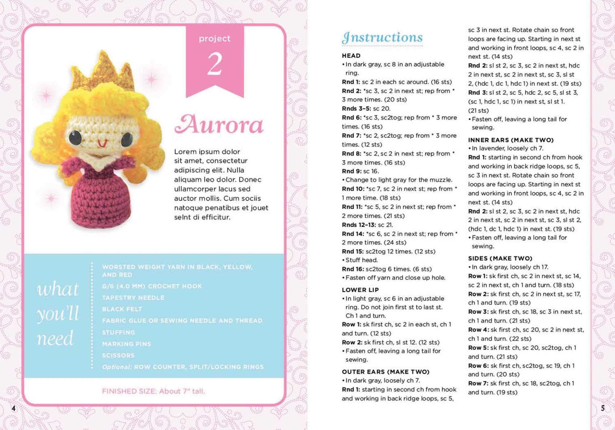 Disney Princess Crochet (Crochet Kits): Jessica Ward, Jana Whitley ...