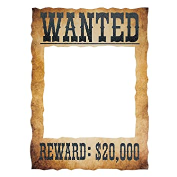 Amazon.com: Wanted Photo Frame Prop: Health & Personal Care