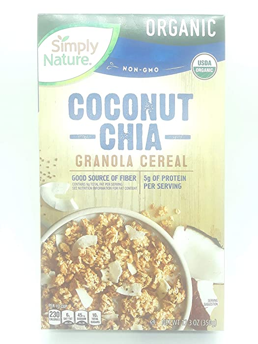 Top 8 Simply Nature Cereal
