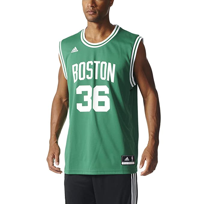 100% authentic 94bcf 7a9f1 adidas Originals NBA Boston Celtics Marcus Smart Replica ...