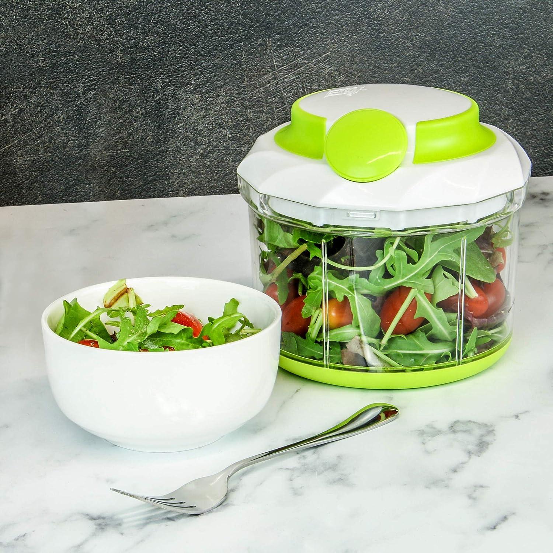 M/&W M/élangeur /à main Hachoir /à nourriture manuel Coupeur de l/égumes Hachoir pour oignons Hachoir Puissant Hachoir pour Salade Mini robot culinaire