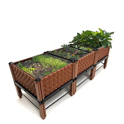 Vertical Garden Herbs Plastic Stand For Indoor Outdoor