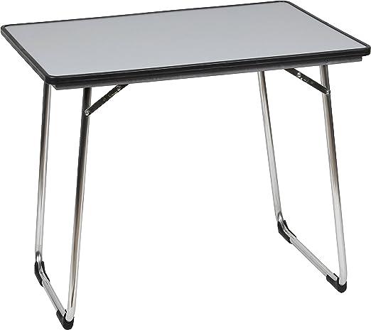 Lafuma Table de camping pliante, 80 x 57 cm, Étanche, Fidji, Couleur:  Carbon, LFM1487-3631