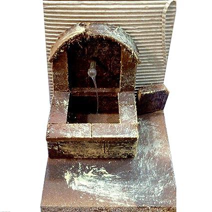 Fontana Per Il Presepe.Fontana Per Presepe Amazon It Casa E Cucina