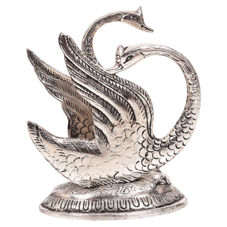 Golden Metal Decorative Swan Duck Shape Napkin Holder Tissue Paper Holder