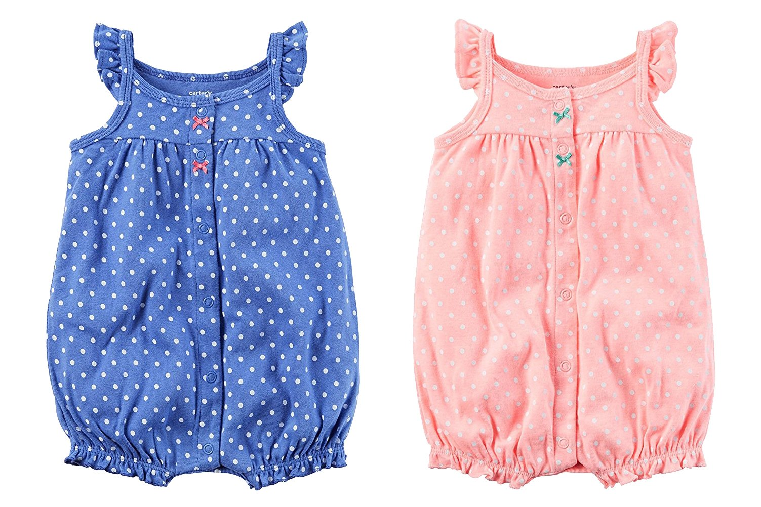 365bbbf6360b4 Amazon.com: Carter's Baby Girls' Strawberry Snap Up Romper 3 Months ...