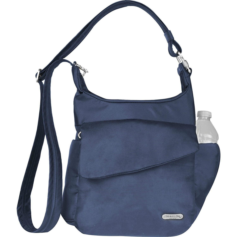 Midnight Travelon Anti-Theft Classic Messenger Bag