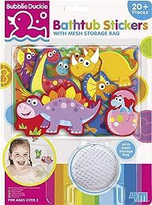4M Foam Bathtub Stickers with Mesh Bag