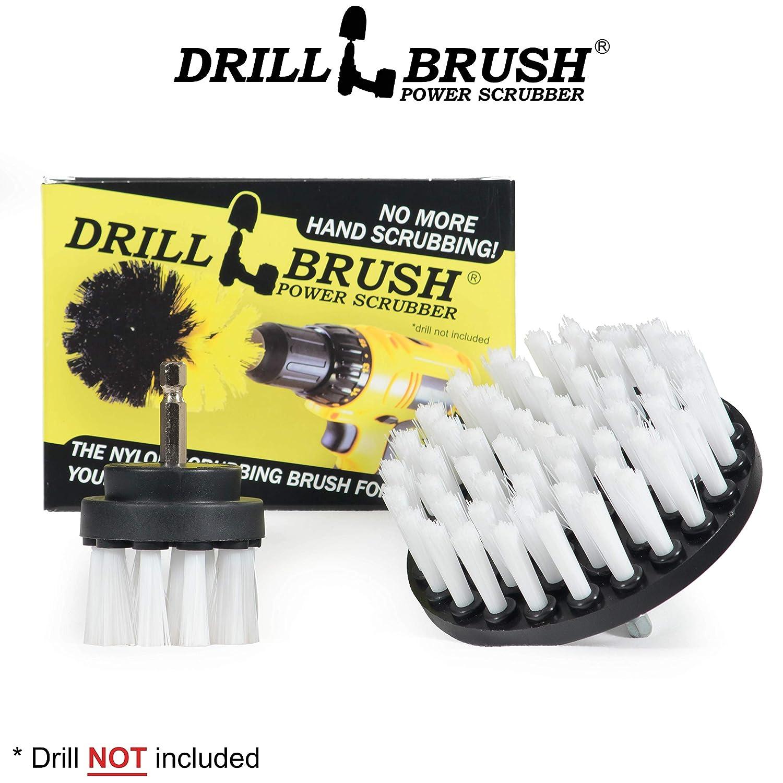 Drill Brush Drill Brush Set Scrub Brush Shower Cleaner Drill Brush Attachment Drill Brushes for Cleaning Bathroom Accessories Grout Cleaner Drill Brush Kit Bathtub Bath Mat