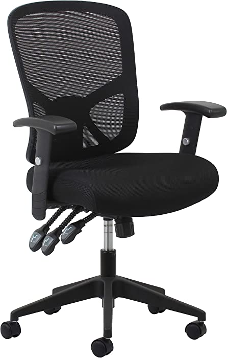 Top 8 Office Chair Mesh Back Adjustable Arms