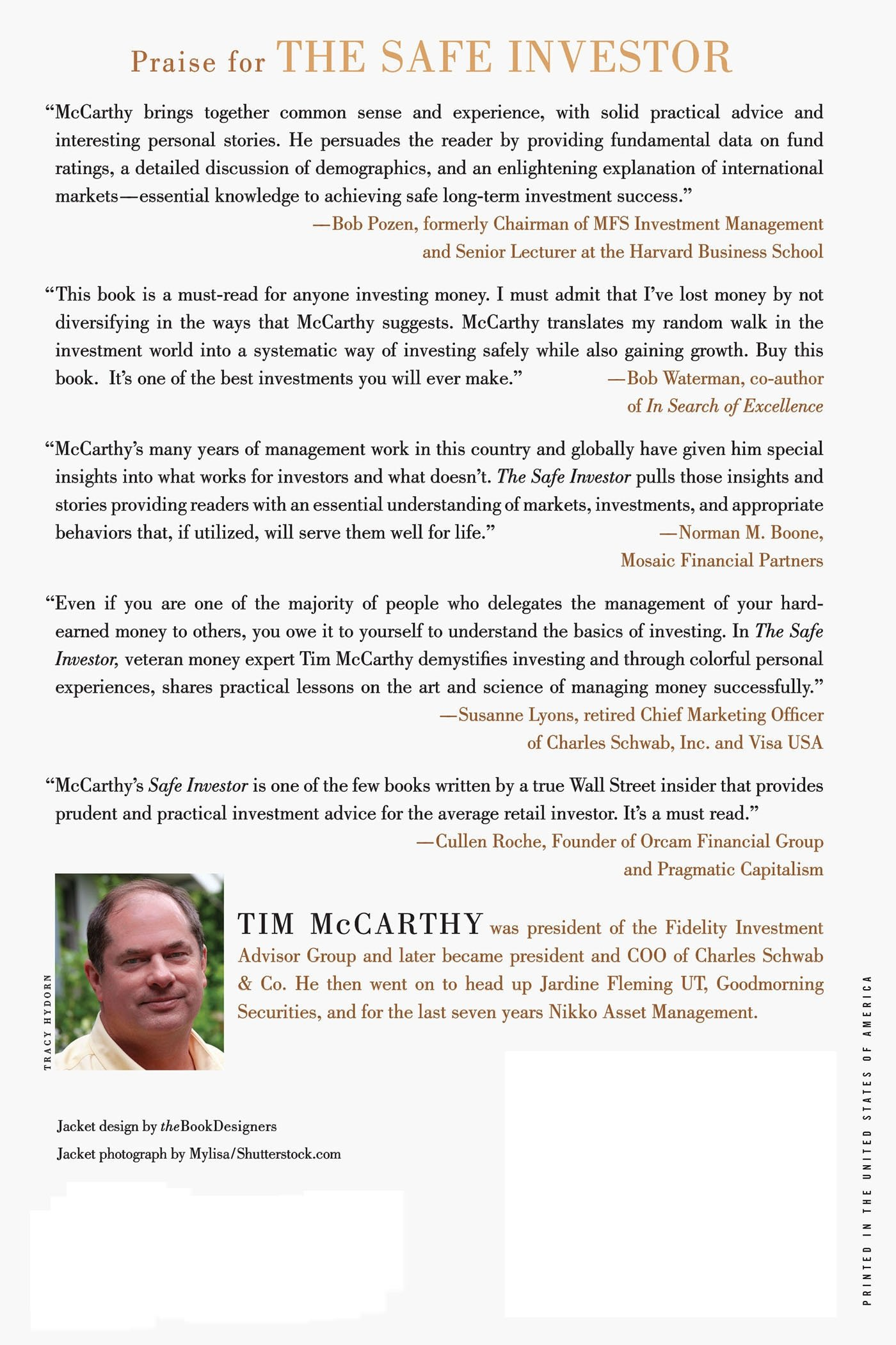 Amazing The Safe Investor: How To Make Your Money Grow In A Volatile Global  Economy: Tim McCarthy: 9781137279101: Amazon.com: Books