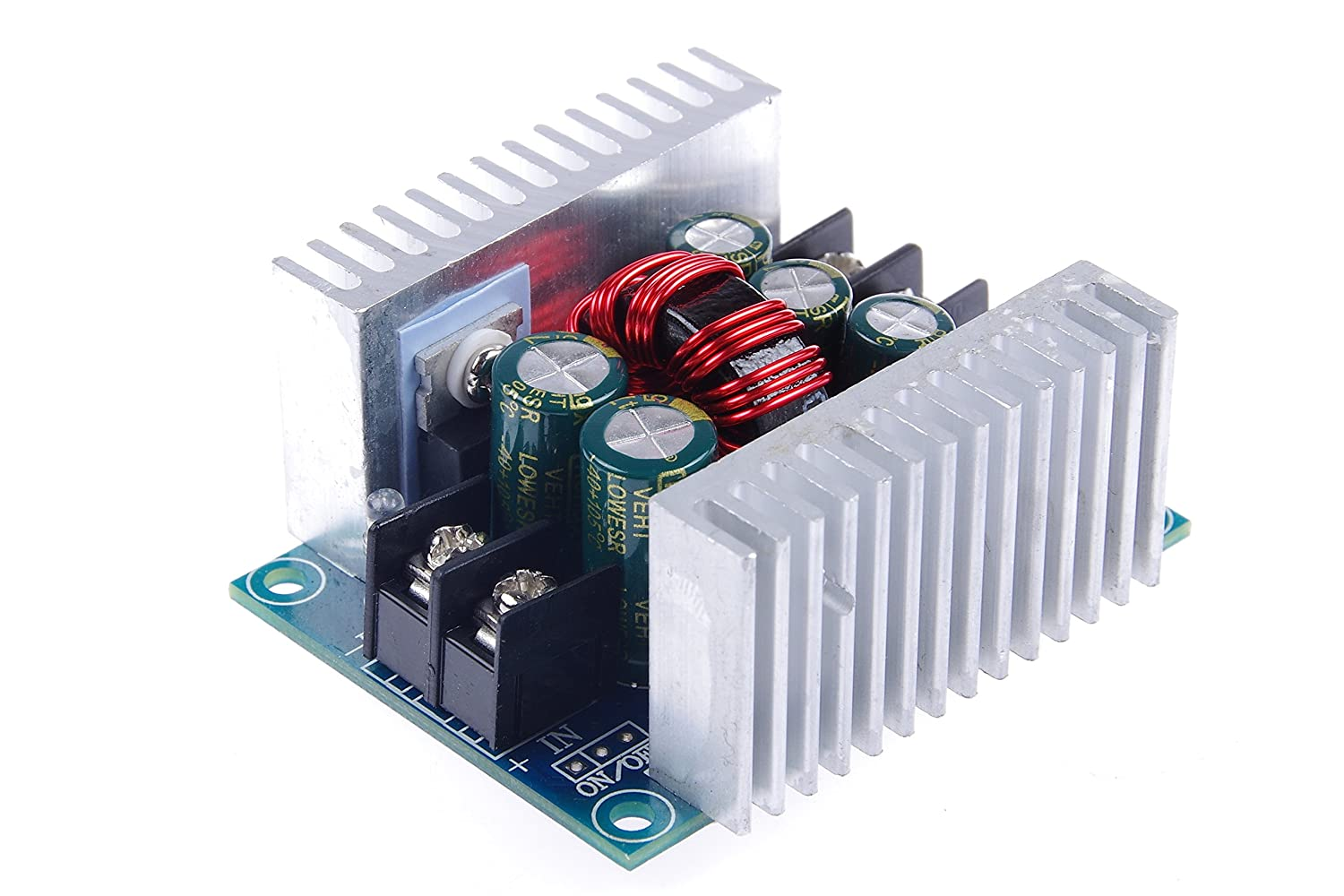 Knacro 300w Dc Buck Converter Power Module Output With Shortcircuit Protection Hardware Design Adjustable 20a Max 6 40v Step Down To 12 36v Constant Voltage Current