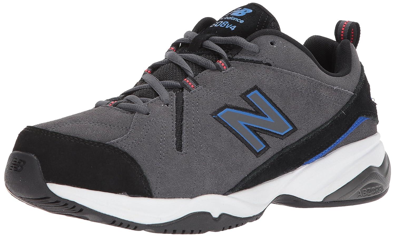 New Balance Men's MX608v4 Training Shoe B01MQZQIQP 16 2E US|Grey/Indigo