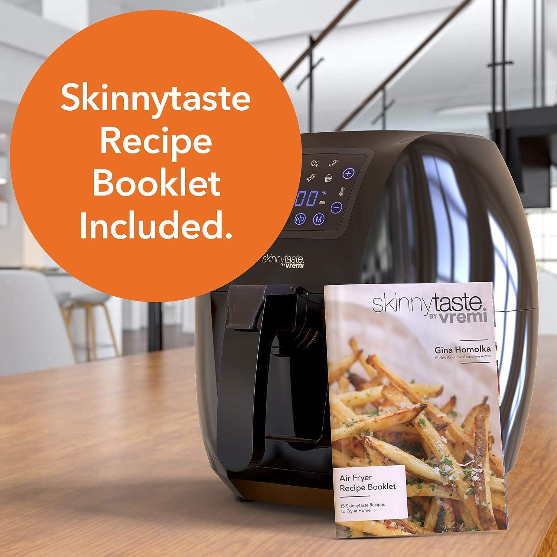 Vremi Skinnytaste by Vremi Air Fryer - Fryer with the Bonus Recipe Booklet