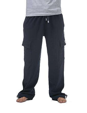 4a3aa8d753947b Amazon.com  Pro Club Men s Heavyweight Fleece Cargo Pants  Clothing
