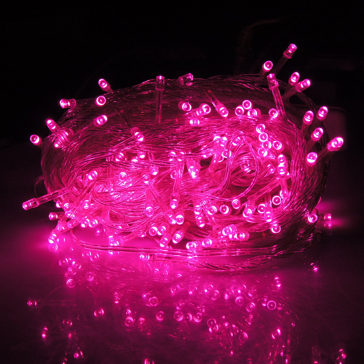 Amazon.com : HDE Linkable LED String Lights Holiday Home Fairy ...