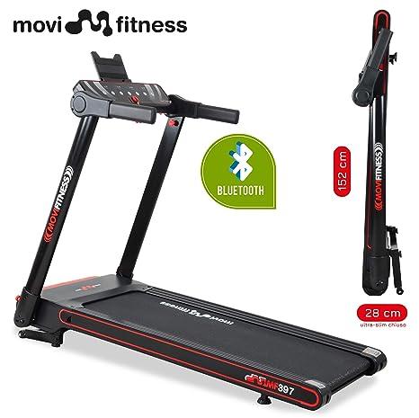 Movi Fitness MF397 - Cinta de Correr Profesional, Plegable, Ahorra ...