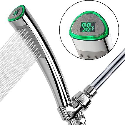 Yoo.Mee Magic Led Thermometer Showerhead