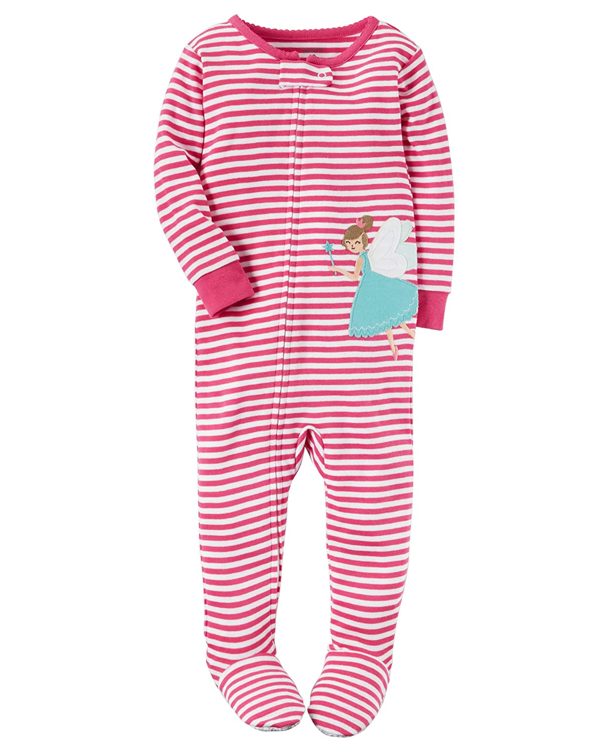 Amazon.com  Carters Toddler Girls Lightweight Snowman Sleeper Footie Pajama  Sleep   Play  Clothing 487d2091f