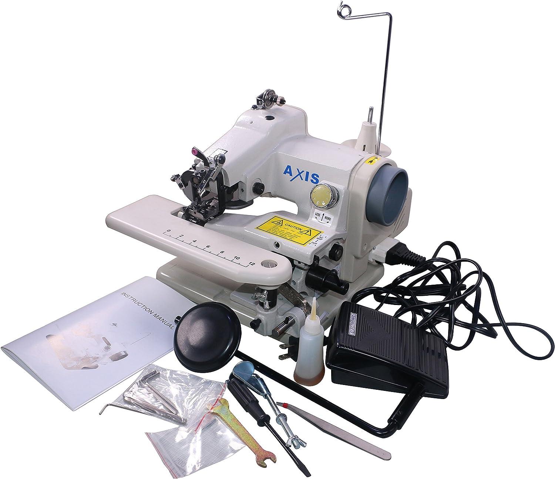 Axis 500-1 máquina de dobladillo portátil para máquina de coser o máquina de coser, máquina de coser para máquina de coser o dobladillo de dobladillo, pedal profesional: Amazon.es: Hogar