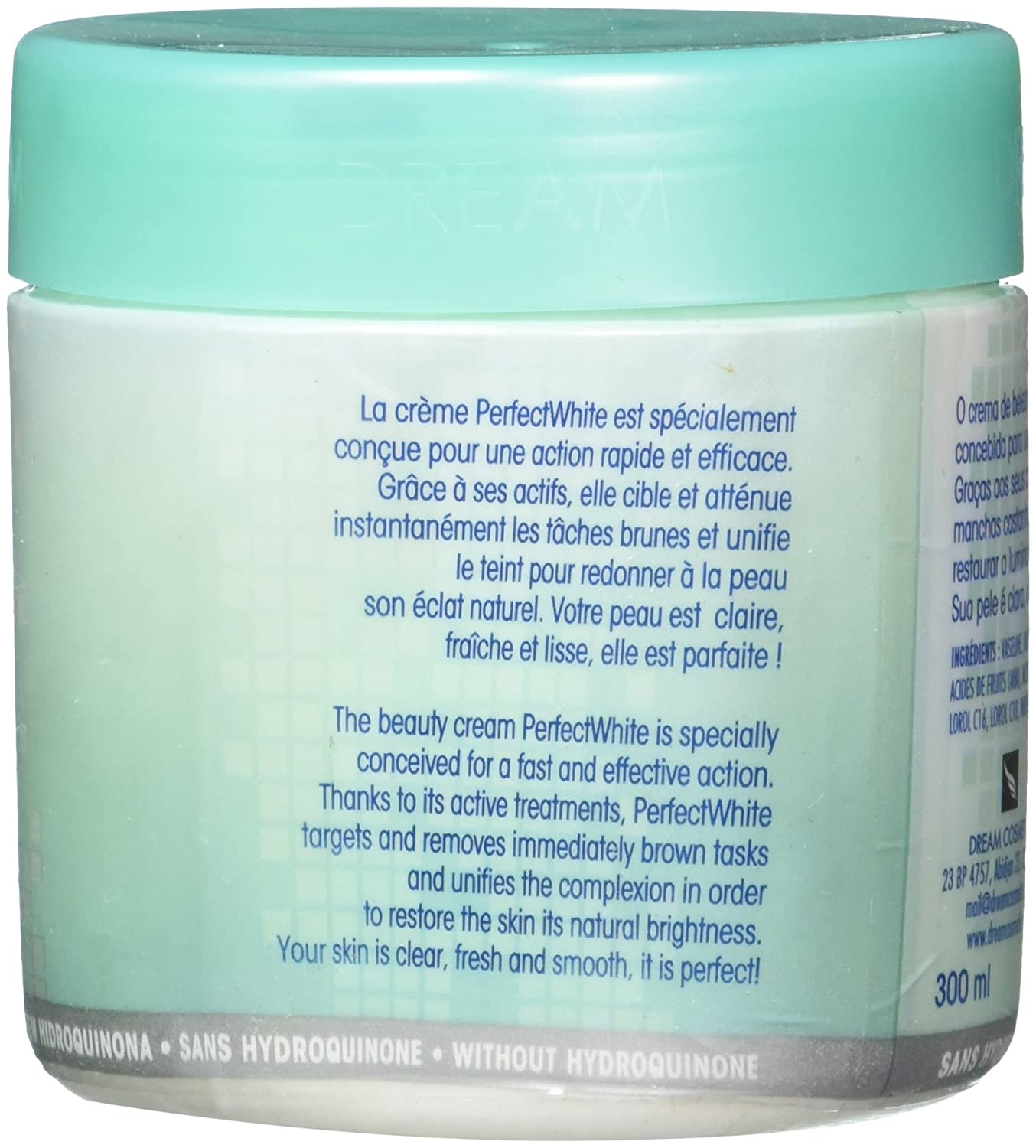 Amazon.com : Perfect White Lightening Beauty Cream 300ml by Perfect White : Beauty