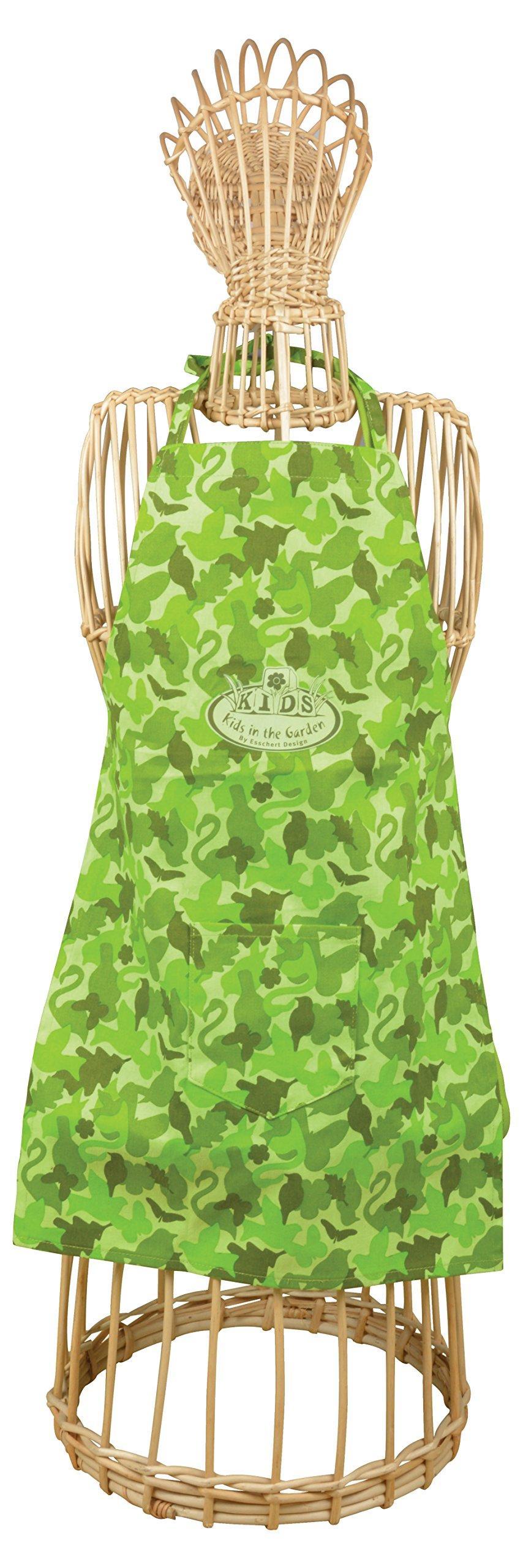 Esschert Design KG172 Children Apron Camouflage Print by Esschert Design (Image #1)