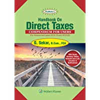 Handbook on Direct Taxes: Compendium for Users (For AY 2018-2019 & 2019-2020)