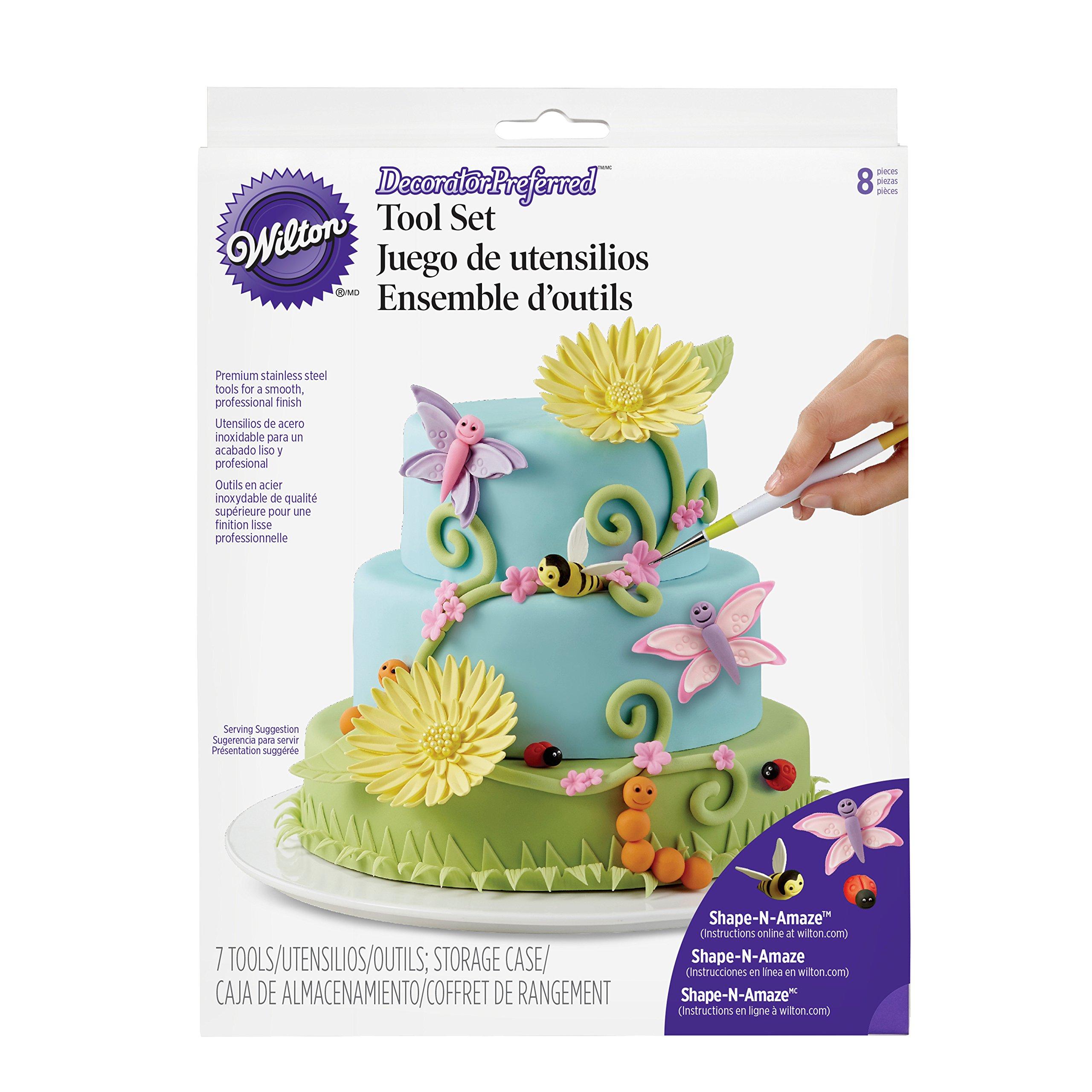 Wilton 3D Figure Modeling Fondant Tool Set, 8-Piece Cake Decorating Tool Set by Wilton (Image #3)
