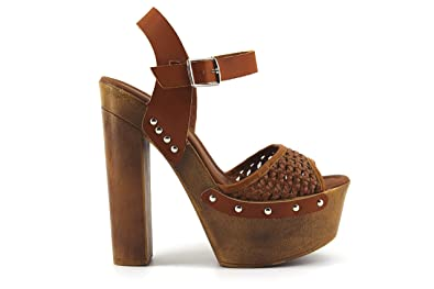 Modelisa - Sandalia Tacon Plataforma Mujer (41 e90c008e9afe