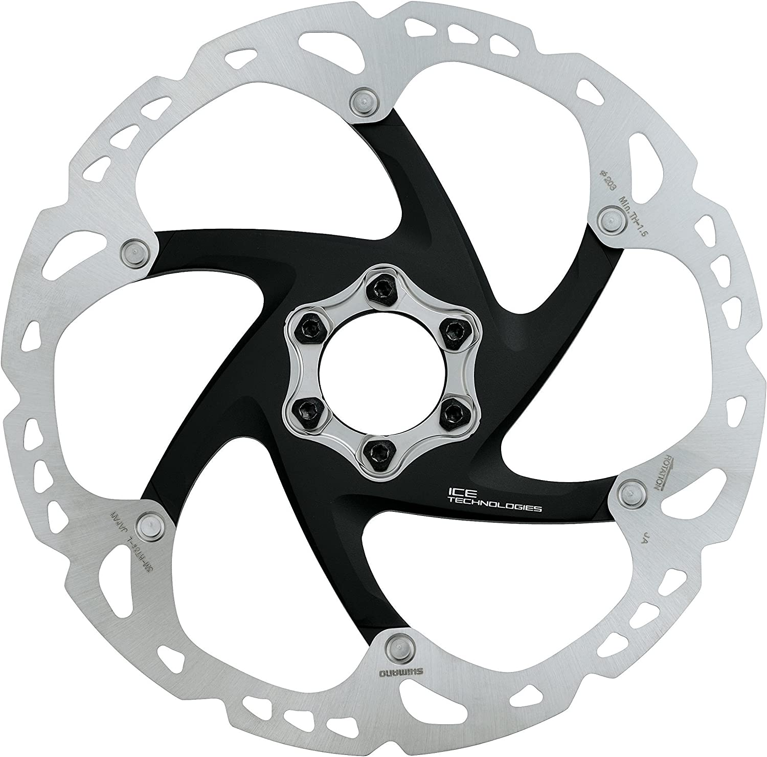 RT98 Disc Rotor Unit for Center Lock for BMR985
