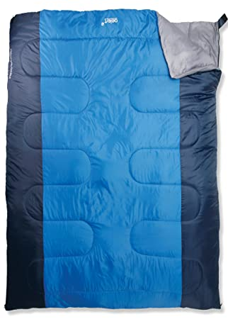 abda03feba Gelert Hebog Sleeping Bag - Navy Blue  Amazon.co.uk  Sports   Outdoors