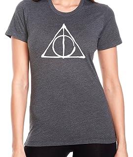 69817b42 Ilion Clothing Co Harry Potter Women's Deathly Hallows Jr. Fit T-Shirt