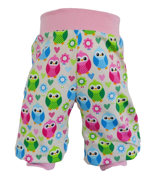 Pumphose,Babyhose,Kinderhose Jeans-Jersey Sternchen rosa von NEJA Design 50//56
